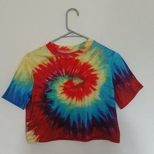 Tie - Dye Crop Top
